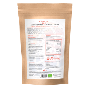 comprar bayas de goji, un superalimento con beneficios y propiedades para una vida saludable y una alimentación equilibrada