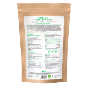 comprar hierba de cebada en polvo, un superalimento con beneficios y propiedades para una vida saludable y una alimentación equilibrada