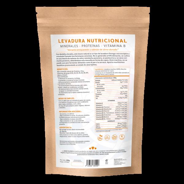 comprar levadura nutricional B12, un superalimento con beneficios y propiedades para una vida saludable y una alimentación equilibrada