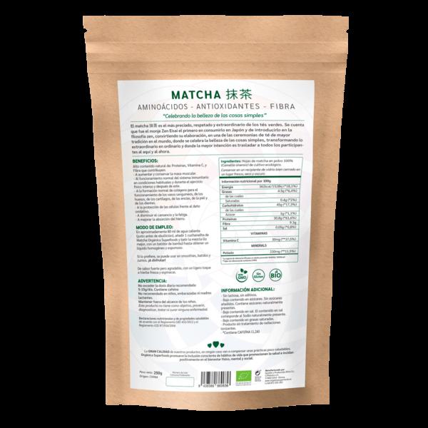 comprar té matcha, un superalimento con beneficios y propiedades para una vida saludable y una alimentación equilibrada