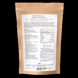 comprar proteína de arroz en polvo, un superalimento con beneficios y propiedades para una vida saludable y una alimentación equilibrada